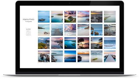 web creada por Adamo Prieto en Bluekea