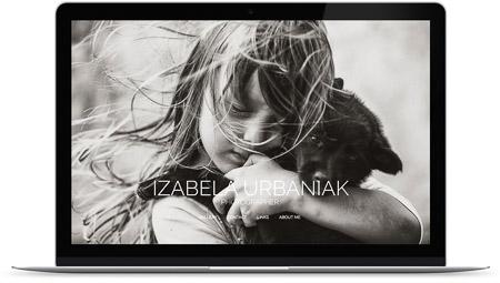 web creada por Izabela Urbaniak en Bluekea