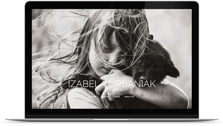 web creada con el diseño Izabela Urbaniak de Bluekea