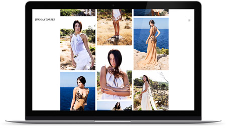 web creada con el diseño Juanma Torres de Bluekea