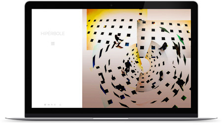 web creada con el diseño Angelo Piero de Bluekea