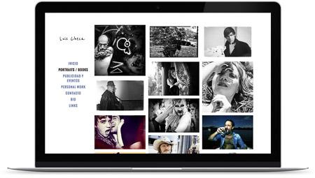 web creada con el diseño Luis Checa de Bluekea
