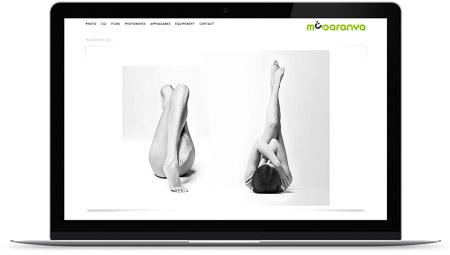 web creada con el diseño Musaranya Producciones de Bluekea