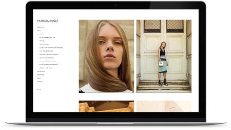 web creada con el diseño Patricia Bonet de Bluekea