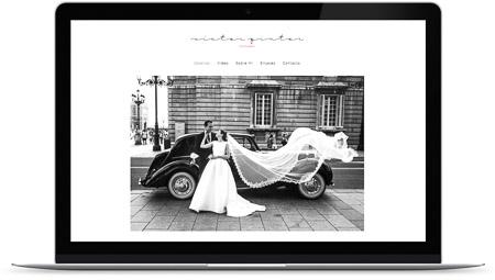 web creada con el diseño Victor Pintor de Bluekea
