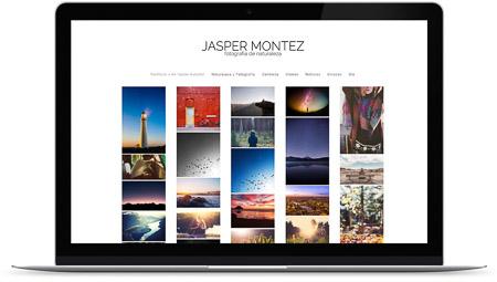 web creada con el diseño Albireo de Bluekea