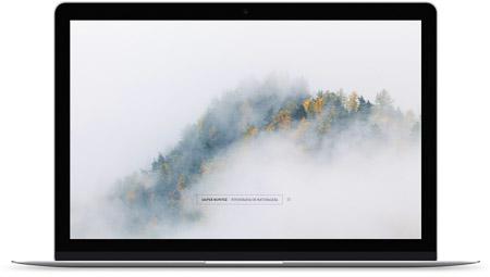 web creada con el diseño Hadar de Bluekea