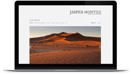 web creada con el diseño Keid de Bluekea