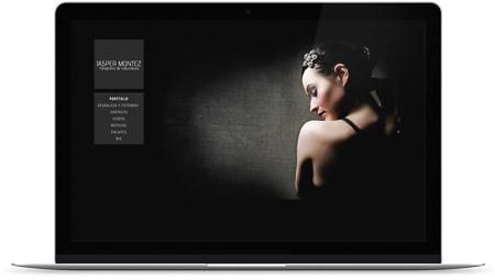 web creada con el diseño Menkib de Bluekea